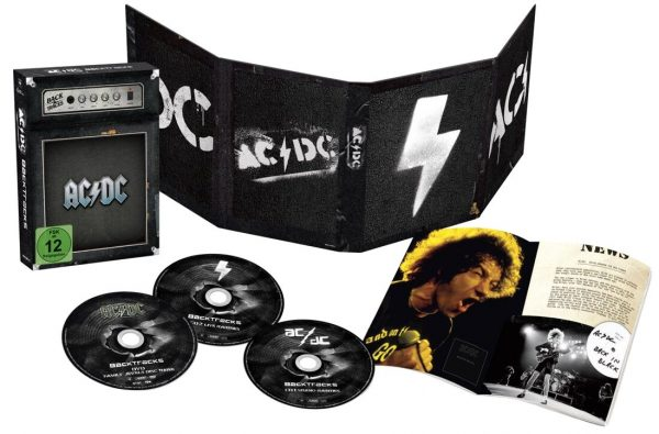 AC/DC Backtracks CD multicolor