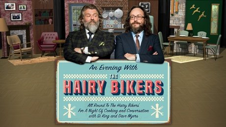 An Evening with The Hairy Bikers at Leas Cliff Hall