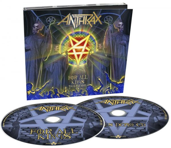 Anthrax For all kings - Tour Edition CD multicolor