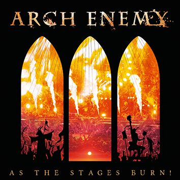 Arch Enemy As the stages burn! CD multicolor