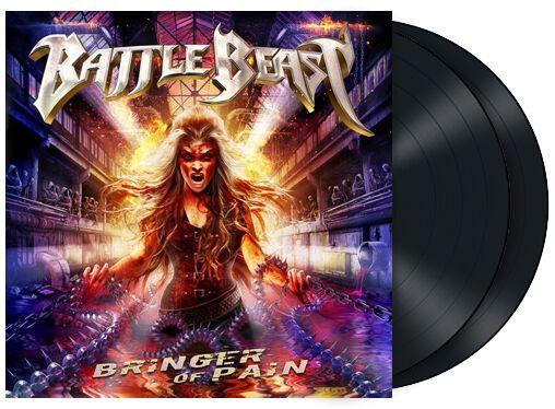 Battle Beast Bringer of pain LP multicolor