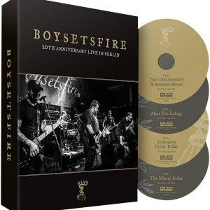 Boysetsfire 20th anniversary live in Berlin DVD multicolor