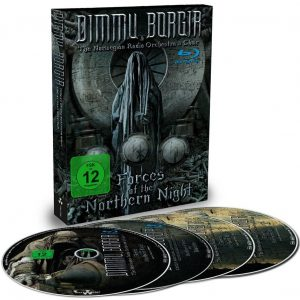 Dimmu Borgir Forces of the northern night Blu-Ray multicolor