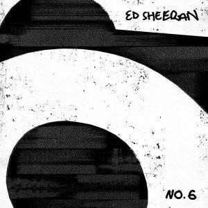 Ed Sheeran No. 6 Collaborations Project CD multicolor