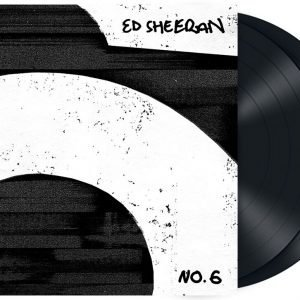 Ed Sheeran No. 6 Collaborations Project LP black