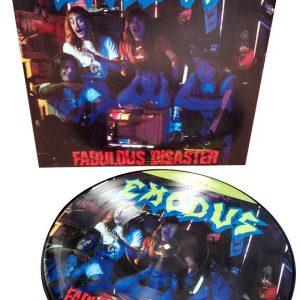 Exodus Fabulous disaster LP multicolor