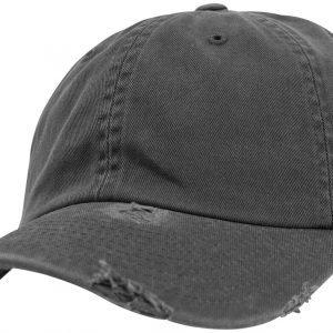 Flexfit Low Profile Destroyed Cap Cap dark grey
