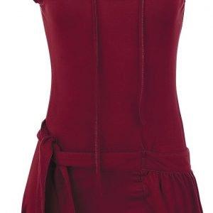Forplay High Neck Dress Short dress burgundy