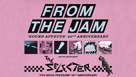 From The Jam + The Selecter at Leas Cliff Hall