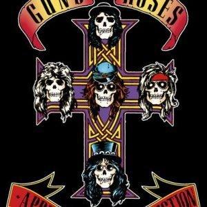 Guns N' Roses Appetite Poster multicolour