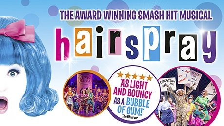 Hairspray the Musical at Bristol Hippodrome Theatre