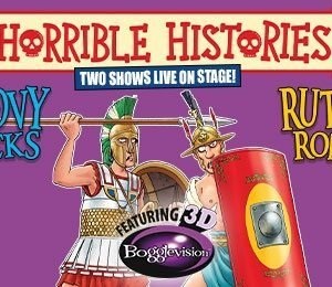 Horrible Histories - Groovy Greeks at Aylesbury Waterside Theatre