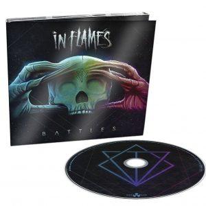 In Flames Battles CD multicolor