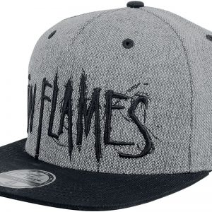 In Flames Logo Cap black grey