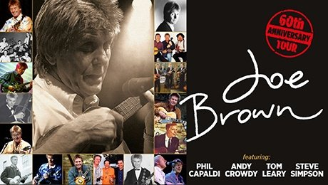 Joe Brown In Concert - 60th Anniversary Tour at Richmond Theatre