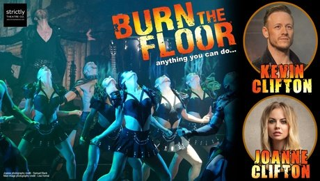 Kevin Clifton & Joanne Clifton - Burn The Floor at Richmond Theatre