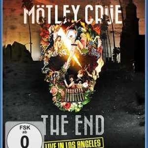 Mötley Crüe The End - Live in Los Angeles Blu-Ray multicolor