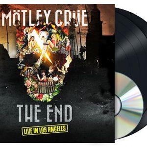 Mötley Crüe The End - Live in Los Angeles LP multicolor