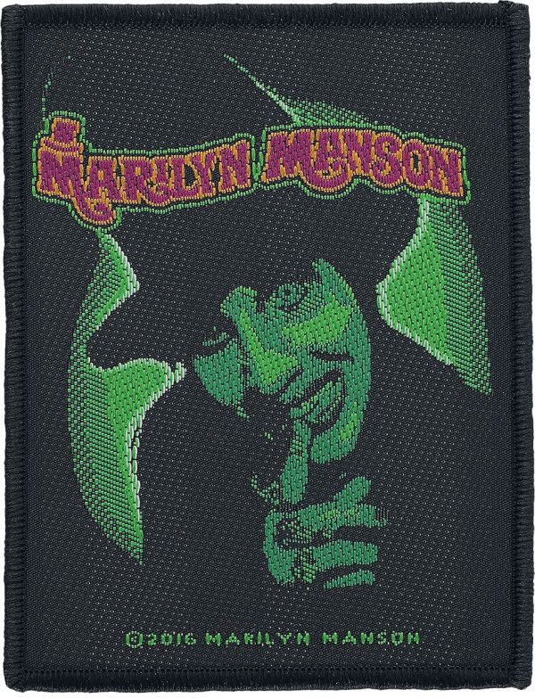 Marilyn Manson Smells like children Patch black