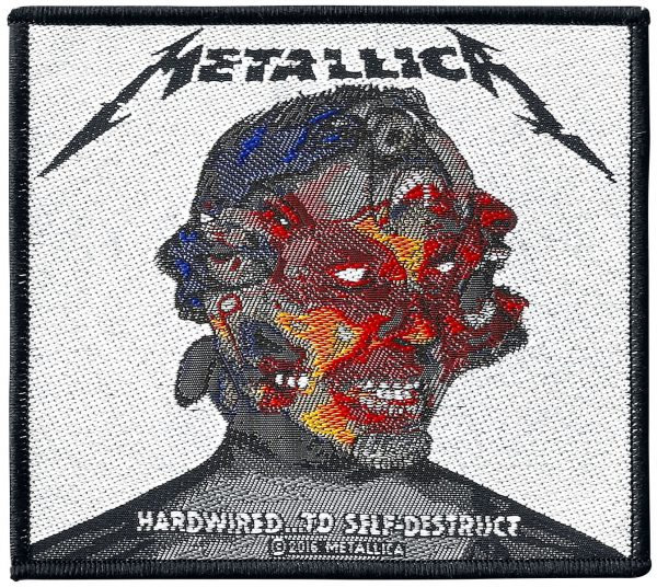 Metallica Hardwired...to self-destruct Patch multicolor