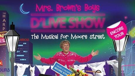 Mrs Brown's Boys D'Live Show at Edinburgh Playhouse