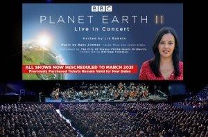Planet Earth II Live in Concert UK & Ireland Arena Tour