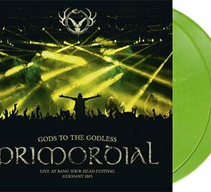 Primordial Gods to the godless (Live at BYH 2015) LP green