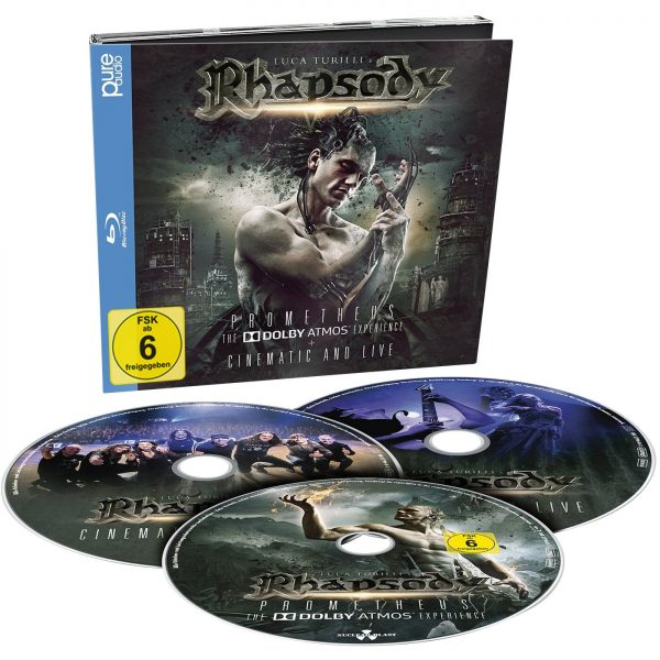 Rhapsody Prometheus, The Dolby Atmos Experience Blu-Ray multicolor
