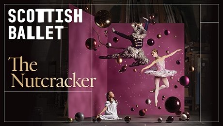 Scottish Ballet Nutcracker Stage Secrets at Theatre Royal Glasgow