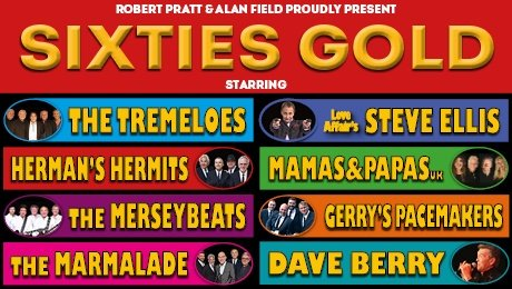 Sixties Gold at New Wimbledon Theatre