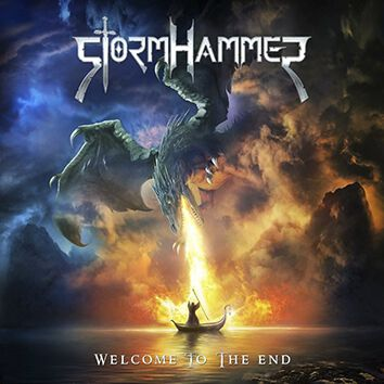 Stormhammer Welcome to the end CD multicolor