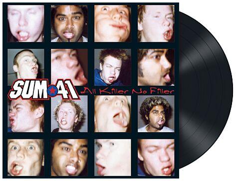 Sum 41 All killer, no filler LP multicolor