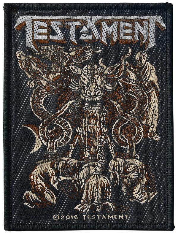 Testament Demonarchy Patch multicolor