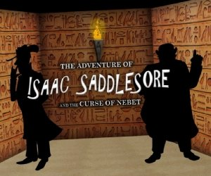 Isaac Saddlesore and the Curse of Nebet