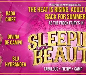 The Frock Fairies in Sleeping (with) Beauty at Regent Theatre