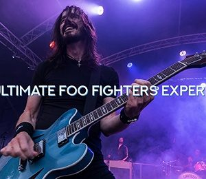 UK Foo Fighters at Leas Cliff Hall