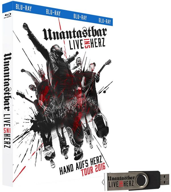 Unantastbar Live ins Herz Blu-Ray multicolor