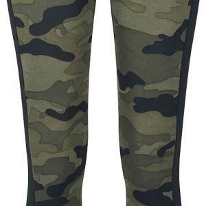 Urban Classics Ladies Camo Stripe Leggings Leggings woodland black