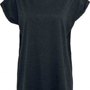 Urban Classics Ladies Extended Shoulder Tee T-Shirt black