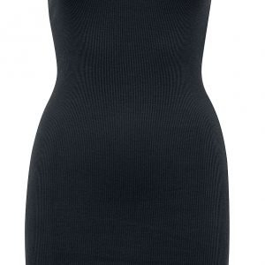 Urban Classics Ladies Off Shoulder Rib Dress Short dress black