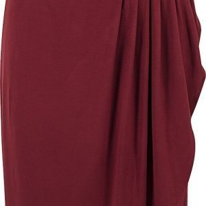 Urban Classics Ladies Viscose Bandeau Dress Short dress burgundy