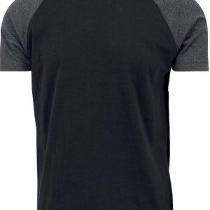 Urban Classics Raglan Contrast Tee T-Shirt black charcoal