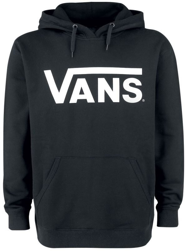 Vans Vans Classic Pullover Hoodie Hooded sweater black white