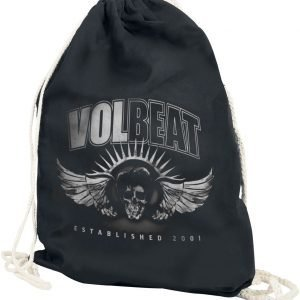 Volbeat Dark Skullwing Gym Bag black