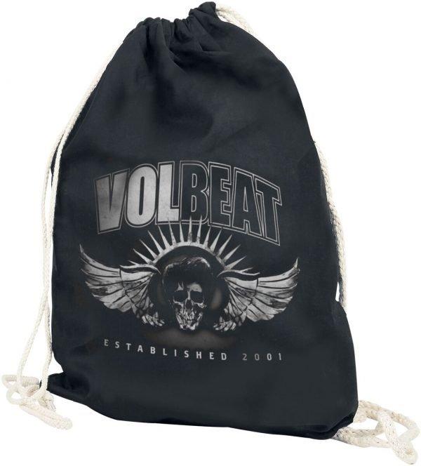 Volbeat Dark Skullwing Gym Bag black