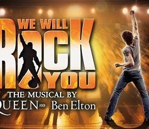 We Will Rock You at Bristol Hippodrome Theatre