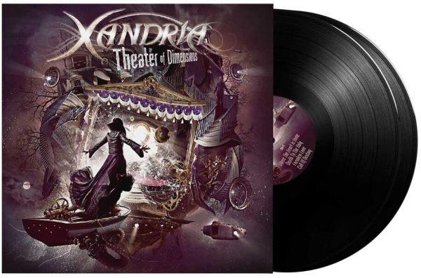 Xandria Theater of dimensions LP multicolor