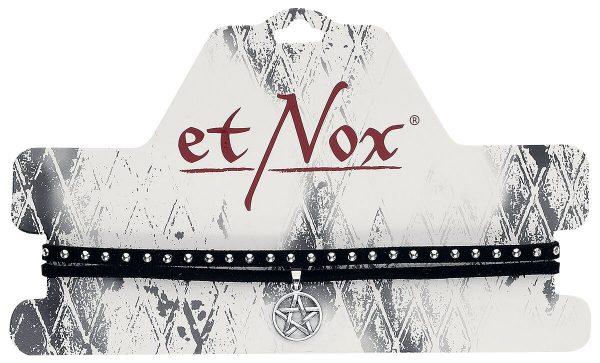 etNox Pentagram Choker black