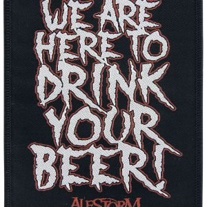 Alestorm We Are Here To Drink Your Beer! Patch multicolour