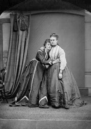 Ernest Boulton and Frederick William Park who scandalised Victorian London